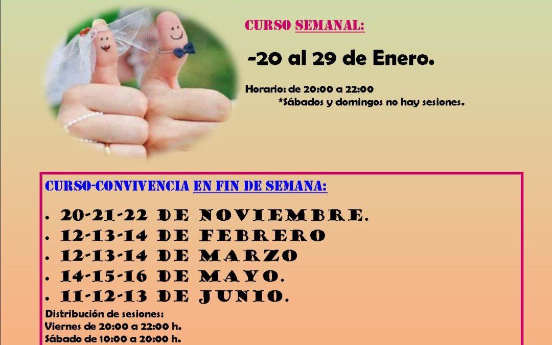 CURSOS DE PREPARACIÓN AL MATRIMONIO